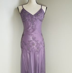 Adrianna Pallel Beaded, Evening, formal, dress,